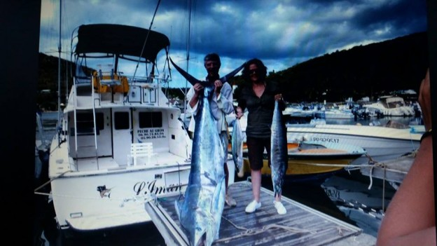 marlin bleu - deshaies fishing